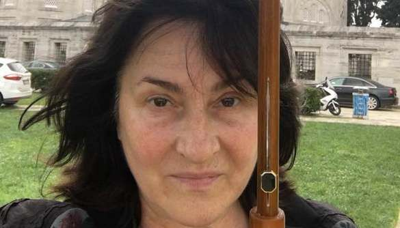 Ольгу Герасим'юк атакувала білочка