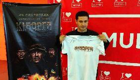 Першими глядачами фільму «Кіборги» Ахтема Сеітаблаєва стали військові Маріуполя (ФОТО)