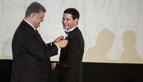 Порошенко вручив орден режисеру фільму «Кіборги»