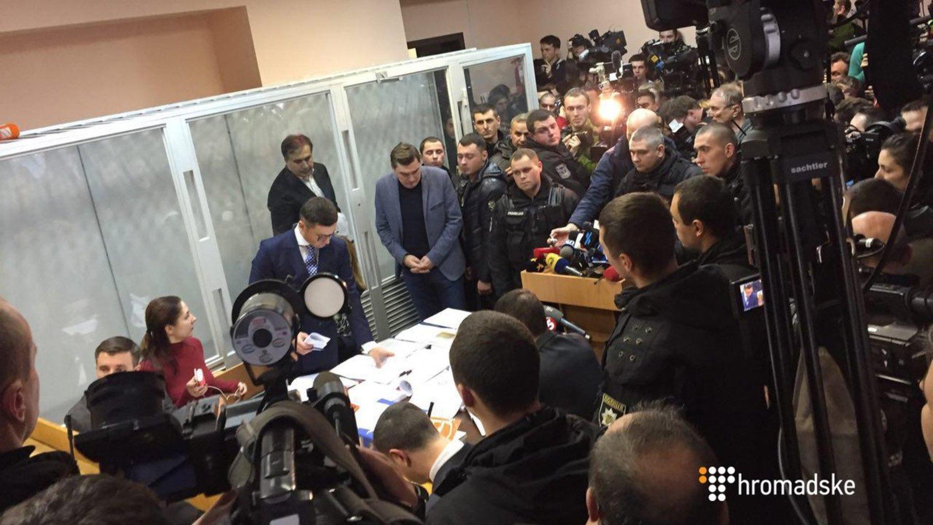 Суддя Печерського суду виставила із зали грузинського телевізійника