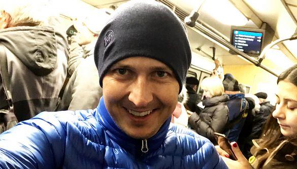 Олександр Педан похвалився, як вперше за 5 років проїхався в метро в Києві