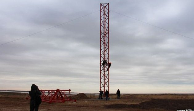 Модернізація телевежі в Чаплинці, яка подає сигнал до анексованого Криму, розпочнеться навесні