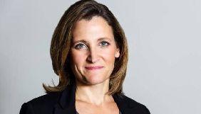 Канада підтримуватиме свободу слова і права журналістів у всьому світі - Фріланд