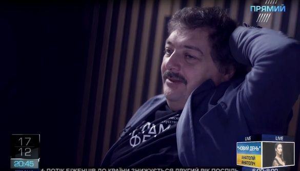 Російський письменник Дмитро Биков в ефірі Прямого каналу: «Щось мені підказує, що ми будемо разом»