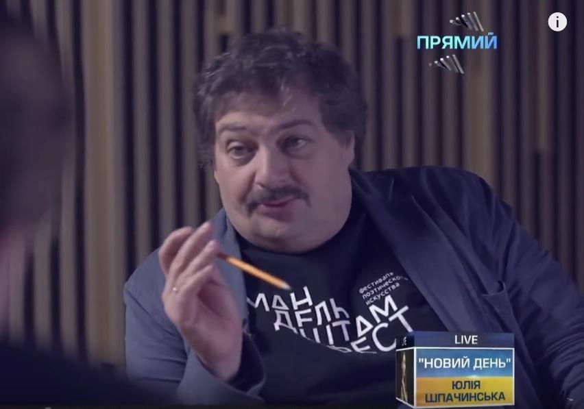 Каков врач, таков и его пациент. Об интервью Евгения Киселёва с Дмитрием Быковым