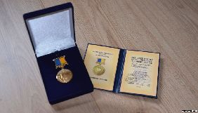 Кримського журналіста Миколу Семену нагородили медаллю товариства «Просвіта»