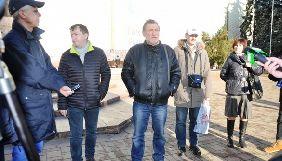 У Чернівцях пройшла журналістська акція з вимогою відправити за грати Юрія Крисіна, причетного до вбивства В'ячеслава Веремія