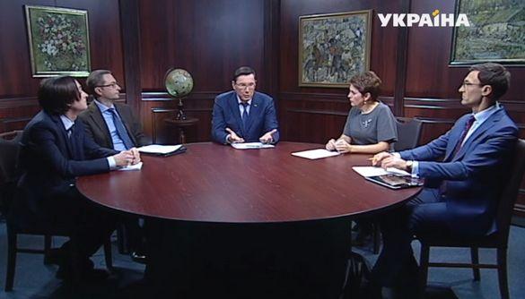 Юрій Луценко й «провідні» канали. Не так сталося, як гадалося