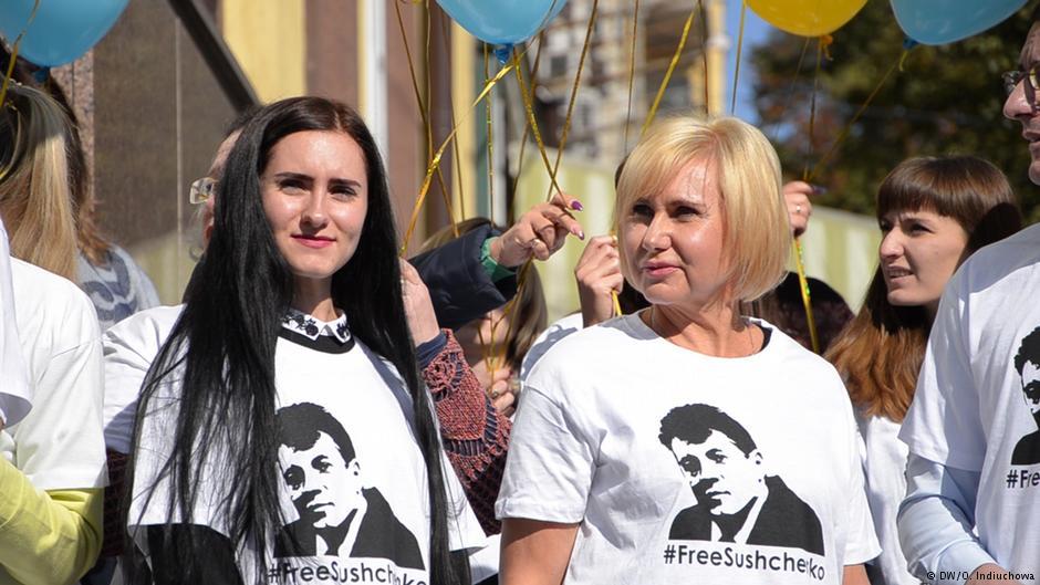 Журналіста Романа Сущенка у московському СІЗО відвідали дружина і дочка