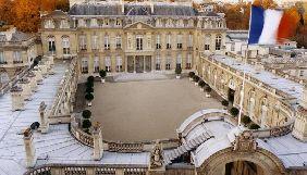В односторонньому порядку прийнято рішення про «виселення» журналістів з Єлисейського палацу