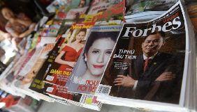 Журнал Forbes почне платити своїм дописувачам