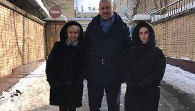 Сущенко побачився з дружиною та донькою у СІЗО