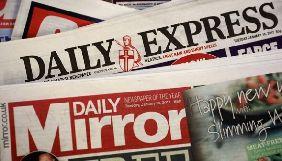 Редактори британських таблоїдів The Daily Express та Daily Star вирішили звільнитися