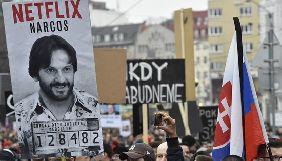 У Словаччині знову відбулися масові антиурядові демонстрації з вимогою розслідувати вбивство журналіста