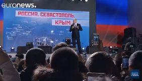 Представництво України при ЄС звернулося до каналу Euronews з нагадуванням про анексію Криму