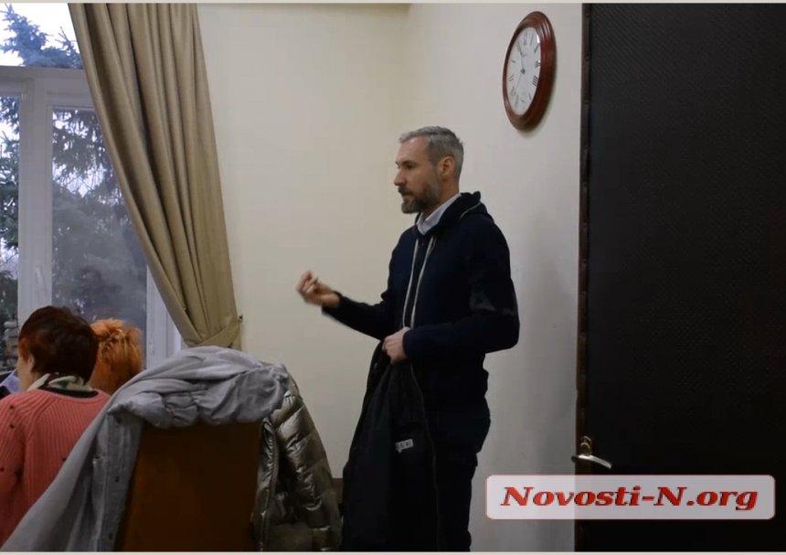 У Миколаєві депутат вимагав видалення із зали засідань журналістки Марії Дорохіної
