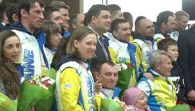 «UA: Спорт» транслював наживо зустріч паралімпійської збірної з Бориспільського аеропорту