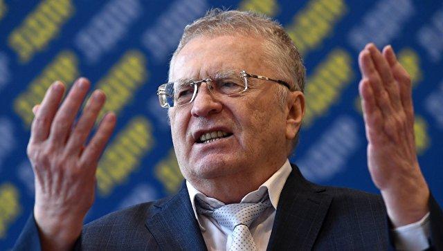 Російський журналіст звинуватив у домаганнях Володимира Жириновського