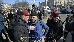 День Волі у Мінську: поліція затримала двох журналістів та більше 30 активістів