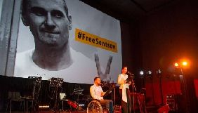 Фестиваль Docudays UA у Києві розпочався з акції на підтримку Олега Сенцова