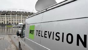 RT припинить мовлення у Вашингтоні в ніч на 1 квітня – Bloomberg
