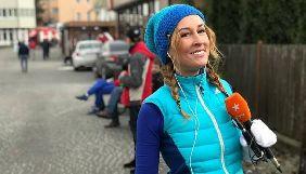 Ахава Тесленко оказалась в больнице после марафона