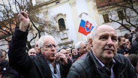 У Братиславі десятки тисяч людей вимагали розслідувати вбивство журналіста