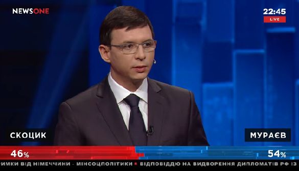 Нью-фейсом об тейбл: як Мураєв омолоджував обличчя