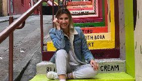 Анита Луценко освободилась от «Зважених та щасливих» и улетела в Америку
