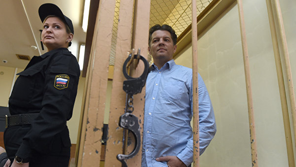 МЗС України надіслало Росії ноту протесту через переведення Сущенка до одиночної камери