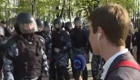У Москві під час висвітлення антипутінської акції затримали журналіста