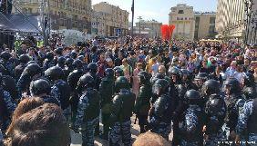 У Москві під час акції протесту постраждав кореспондент Deutsche Welle