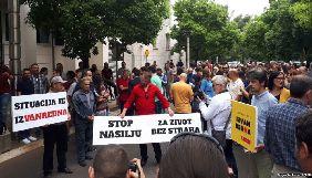 У Чорногорії відбувається масовий протест через напад на журналістку