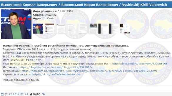 У керівника «РІА Новини Україна» СБУ знайшла російський паспорт