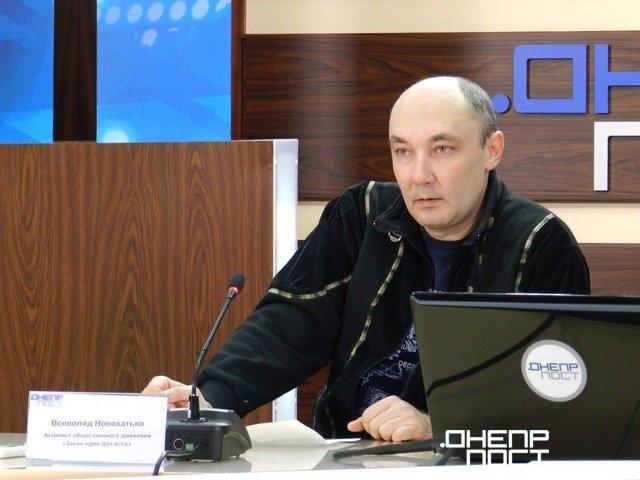 У Дніпрі редактор місцевого інтернет-видання «ЗОВ» заявив, що на нього скоєно напад
