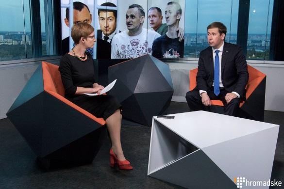 Ірина Ромалійська стала ведучою проекту іномовлення «Громадское»