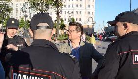 У Москві затримали режисера Сушкевича за одиночний пікет на підтримку Сенцова