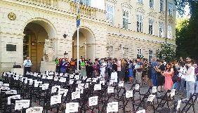 У Львові пройшла акція на підтримку Сенцова та інших політв'язнів