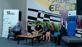Енн Еплбаум презентувала український переклад своєї книжки про Голодомор