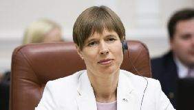 Президентка Естонії закликала називати події в Україні війною, не користуючись евфемізмами