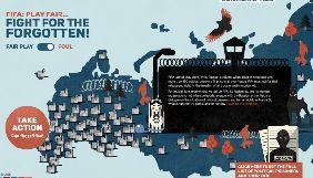У Європарламенті представили інтерактивну мапу політв'язнів РФ, до якої потрапили Сенцов Кольченко та інші
