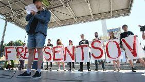 У Києві проходить акція «Вголос» на підтримку Олега Сенцова