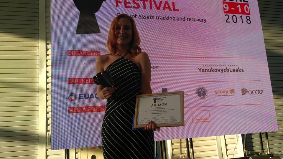 Журналістка «Схем» перемогла у конкурсі журналістських розслідувань MezhyhiryaFest