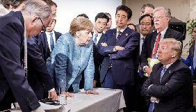 В мережі жартують через фотографії з саміту G7
