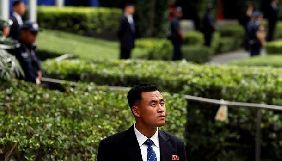 Охорона Кім Чен Ина не дозволила журналістам знімати його в Сінгапурі
