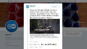 Deutsche Welle назвало бойові дії на Донбасі «громадянською війною»