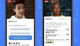 Facebook додає функції, які перетворять відеотрансляції на гру