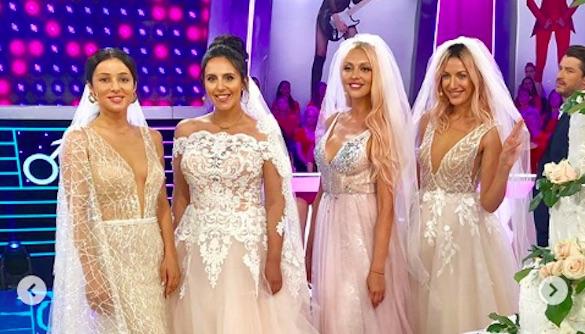 Никитюк, Полякова и Джамала засветились в свадебных платьях