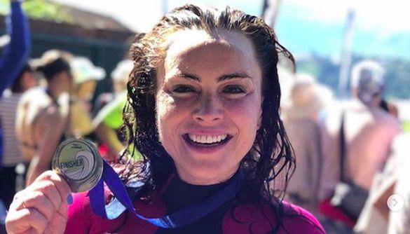 Ведущая «Интера» получила медаль за заплыв в Италии