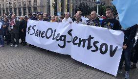 На Майдані Незалежності проходить акція на підтримку бранців Кремля (ФОТО, ВІДЕО)
